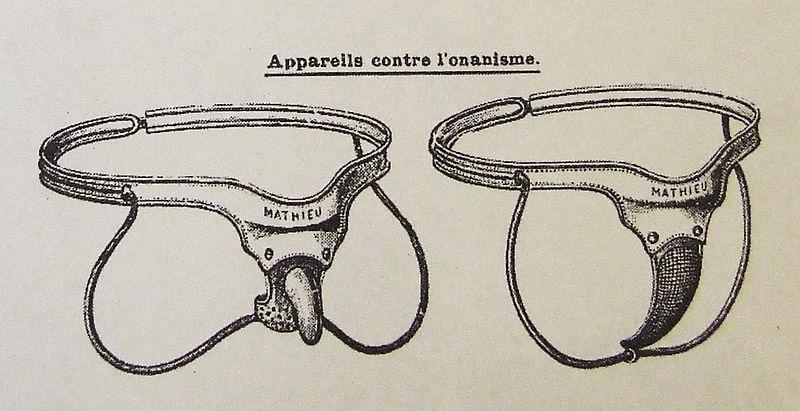 proti-masturbačné zariadenia