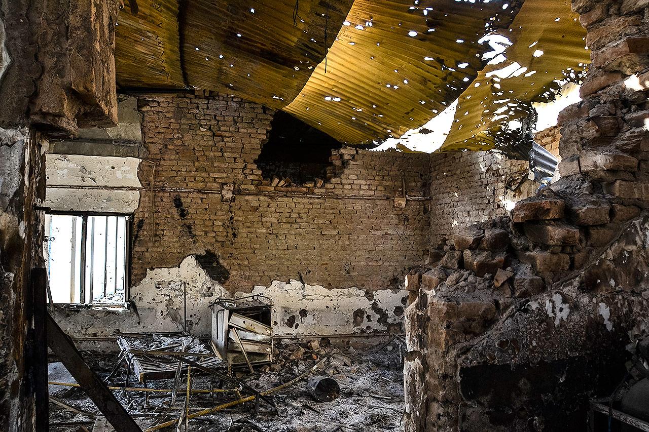 Nemocnica v Kundúze v októbri 2015. Foto: Dan Sermand, MSF.