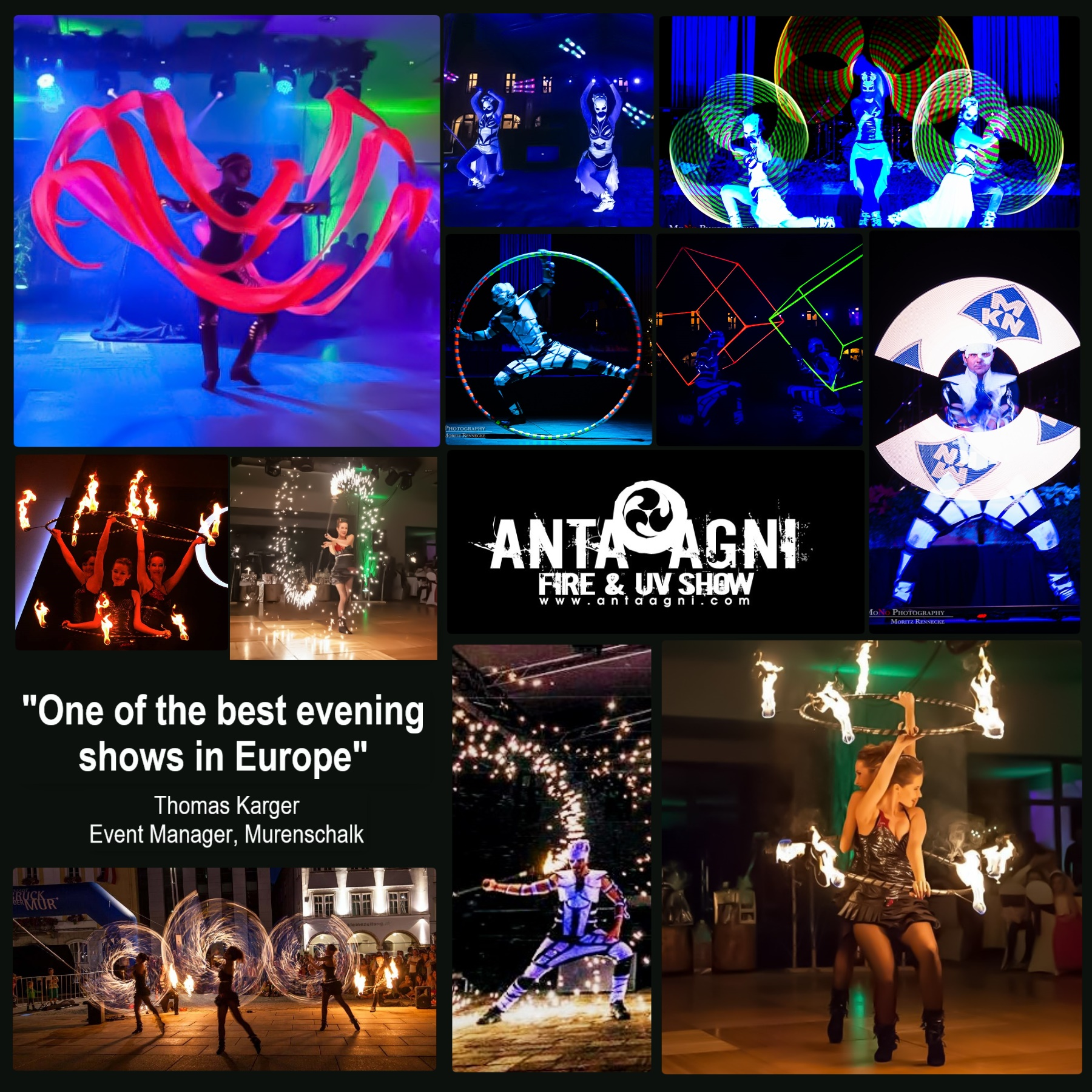 Ďakujeme az podporu Anta Agni - Fire Show a UV Show